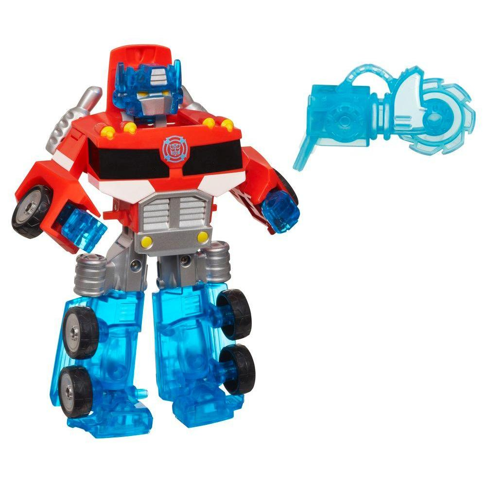 PLAYSKOOL HEROES TRANSFORMERS RESCUE BOTS OPTIMUS PRIME 16 CM