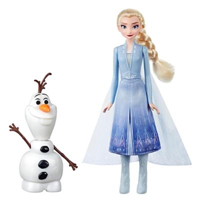 FRZ 2 -  Poupée Elsa et Olaf intéractifs