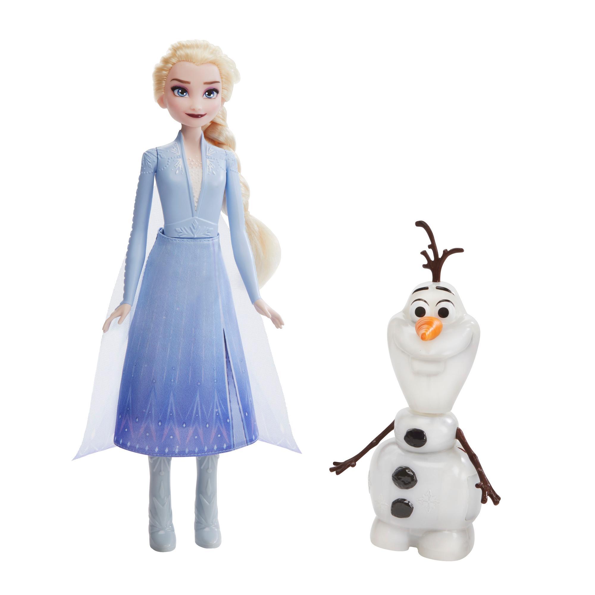 Elsa et Olaf intéractifs