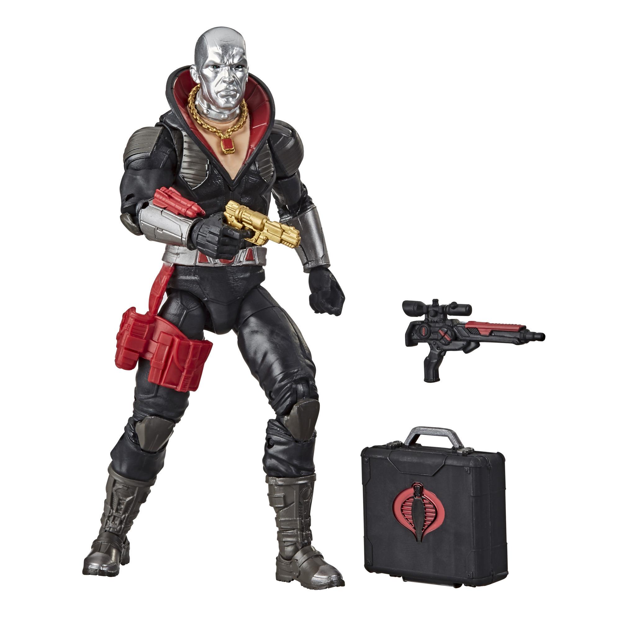 G.I. Joe Classified Series, figurine Destro 03 à collectionner de 15 cm, accessoires multiples