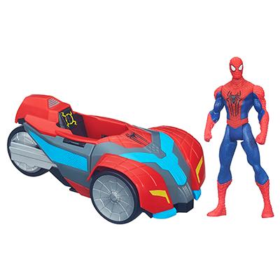Spider-Man Vehicule 3 en 1 Spider Strike