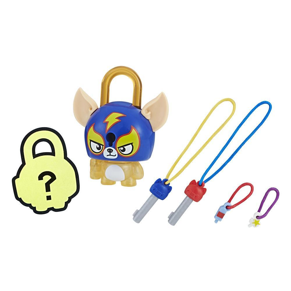 FIGURINE LOCK STARS - CADENAS A COLLECTIONNER - CHIEN CATCHEUR - SERIE 2