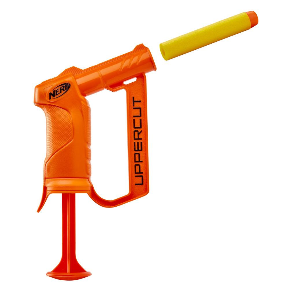 Nerf Alpha Strike Uppercut Blaster -- Includes 1 Official Nerf Elite Dart -- For Kids, Teens, Adults -- Orange