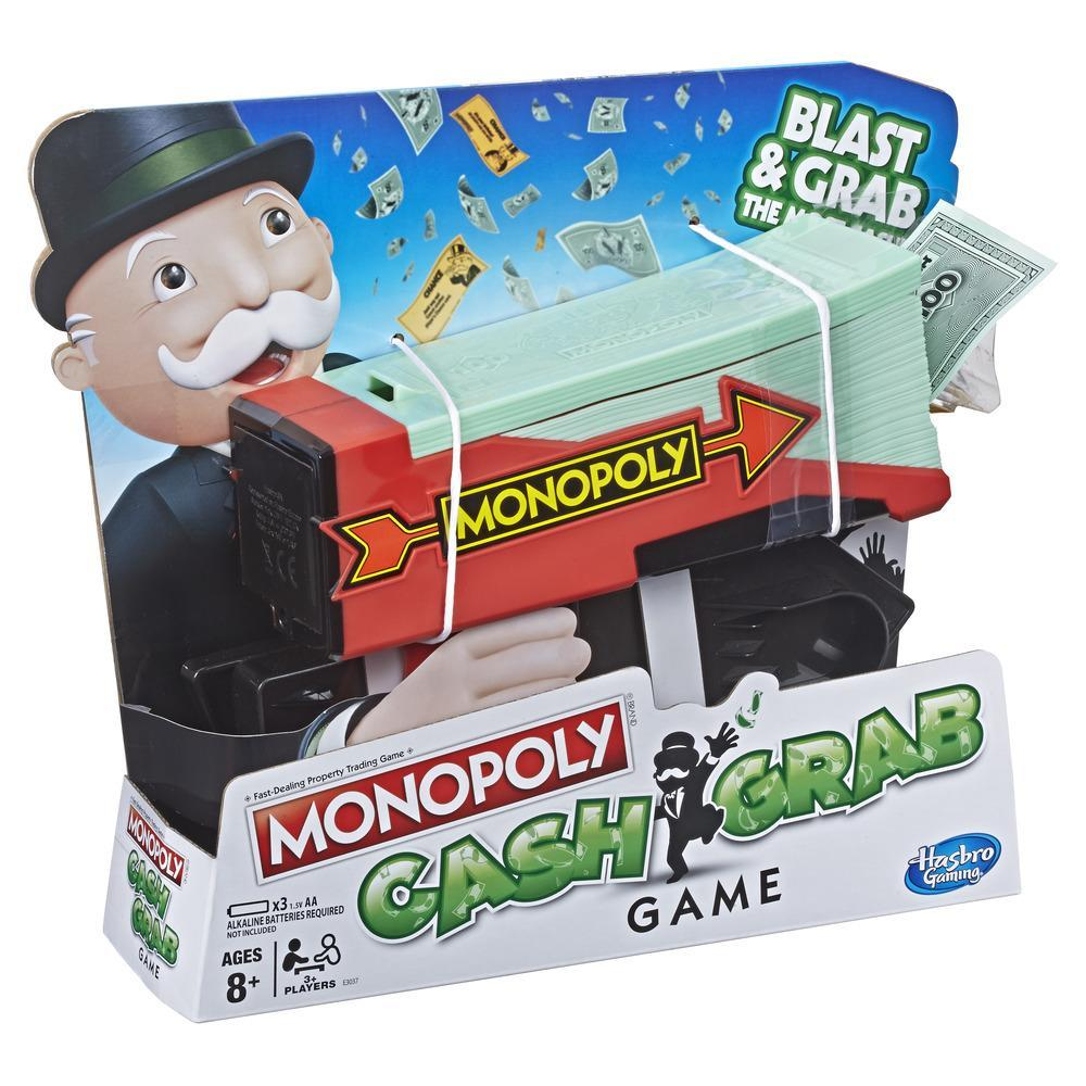 MONOPOLY Cash & Grab Chope et Gagne