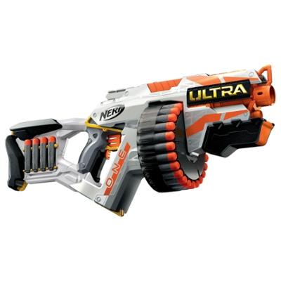 Nerf Ultra One Blaster motorisé - 25 fléchettes Nerf Ultra officielles, compatible uniquement avec les fléchettes Nerf Ultra.