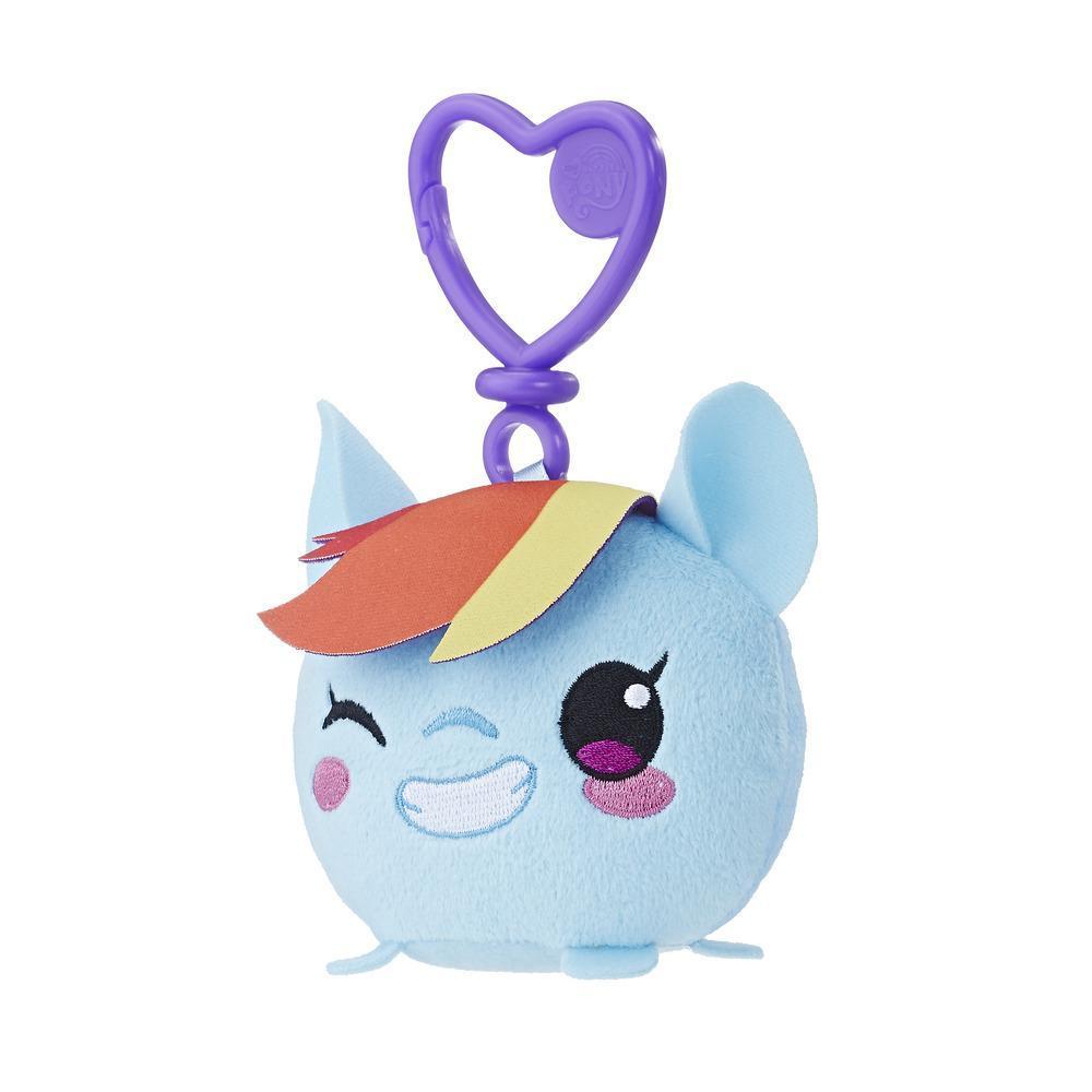 MLP Peluche clip 9cm Rainbow Dash