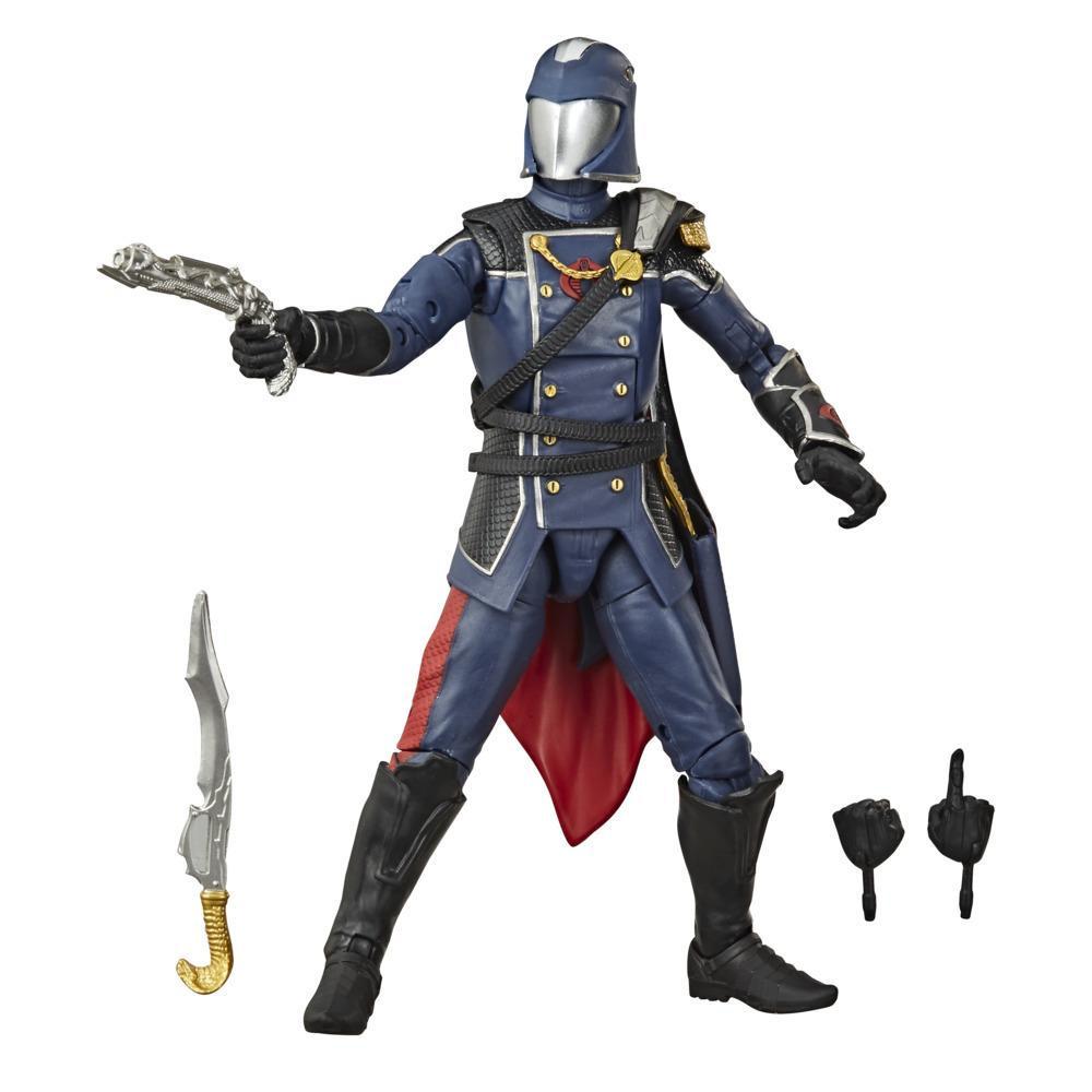 G.I. Joe Classified Series, figurine Cobra Commander 06 à collectionner de 15 cm avec accessoires et emballage spécial