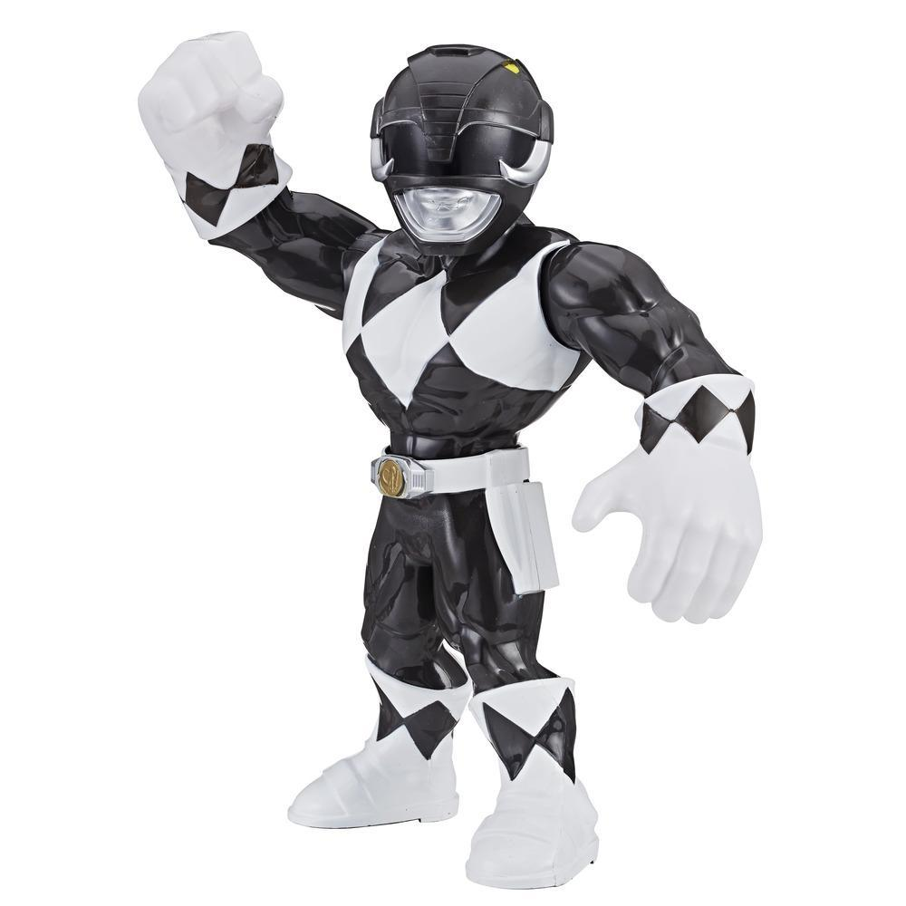 Playskool Heroes Mega Mighties Power Rangers - Figurine Ranger noir