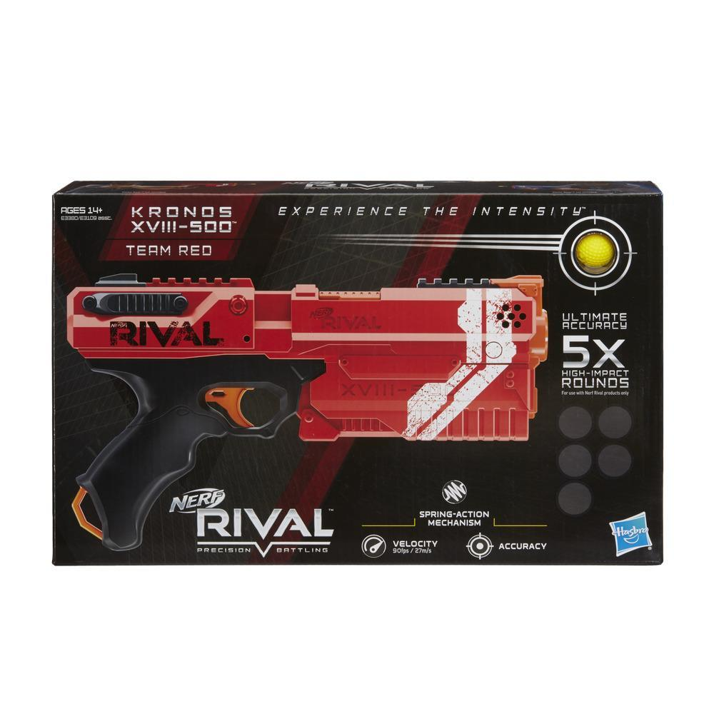 NERF RIVAL KRONOS XVIII 500 ROUGE