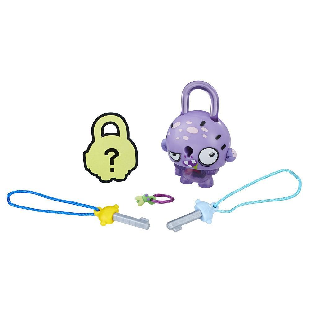 FIGURINE LOCK STARS - CADENAS A COLLECTIONNER - MONTRE VIOLET - SERIE 1