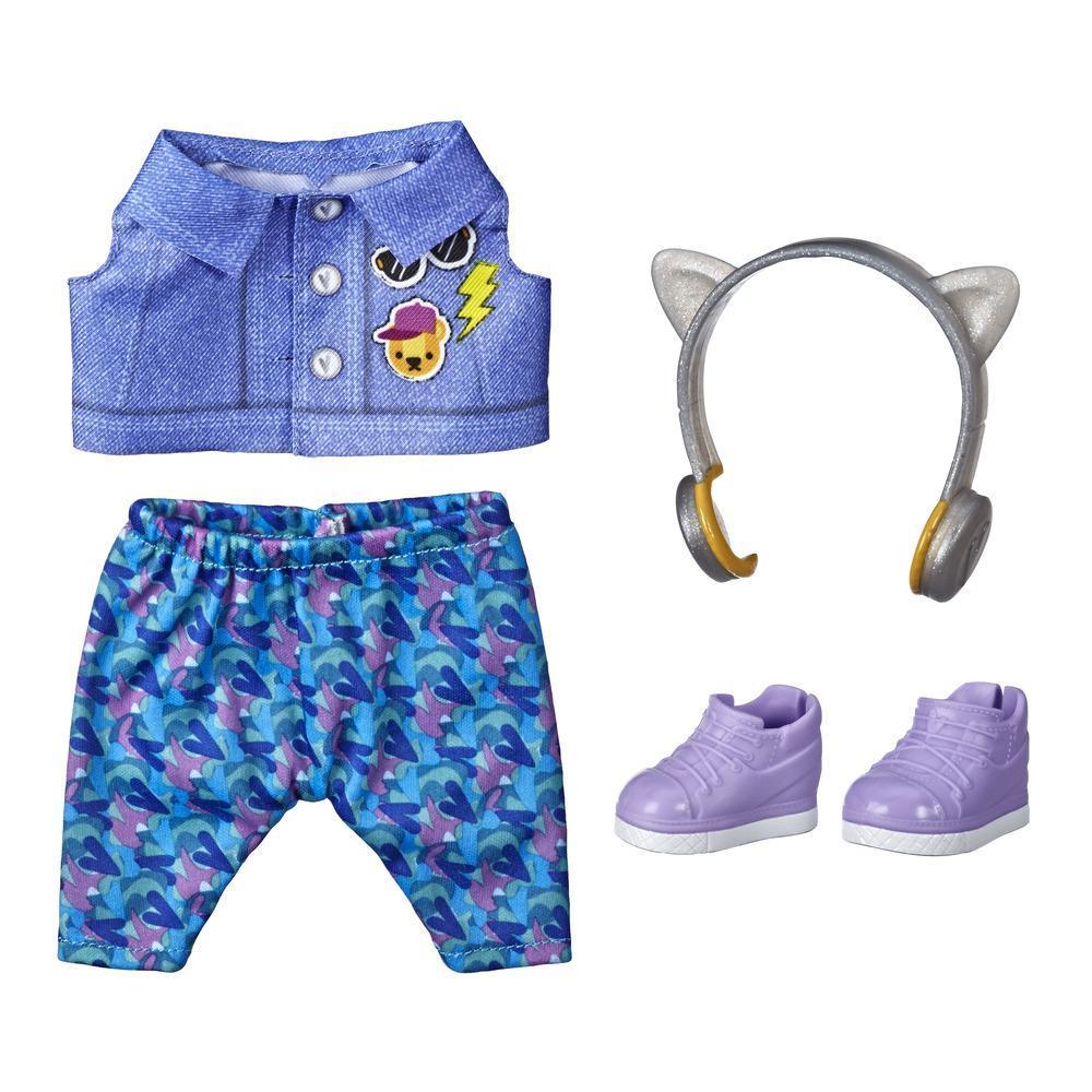 Littles de Baby Alive, tenue Little Styles  Bonds rythmés pour poupées Littles, vêtements de poupée, pour enfants, à partir de 3 ans
