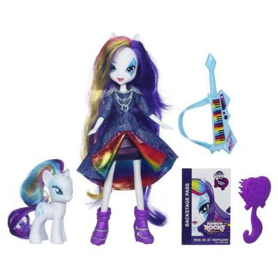 Equestria Girls Rarity + poney