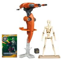 STAR WARS Vehicule STAP + Figurine BATTLE DROID