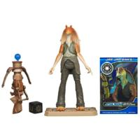 STAR WARS Movie Legends Figurine BATTLE DROID JAR JAR BINKS
