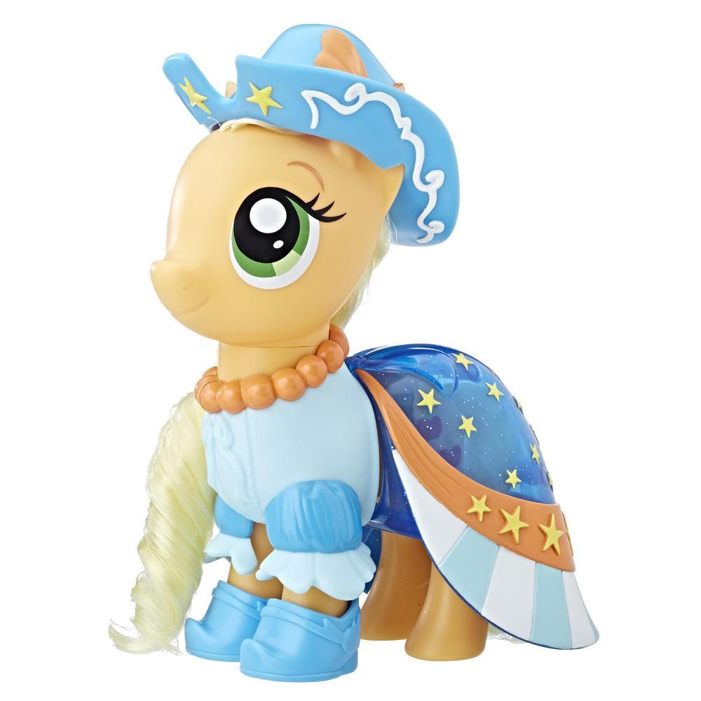 My Little Pony Le Film PONEY COIFFURE & TENDANCE 15 CM APPLEJACK