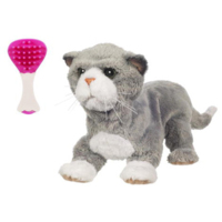 FURREAL FRIENDS -  Nouveau né Chaton gris