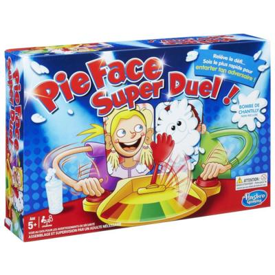 PIE FACE SUPER DUEL !