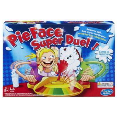 Pie face game duel