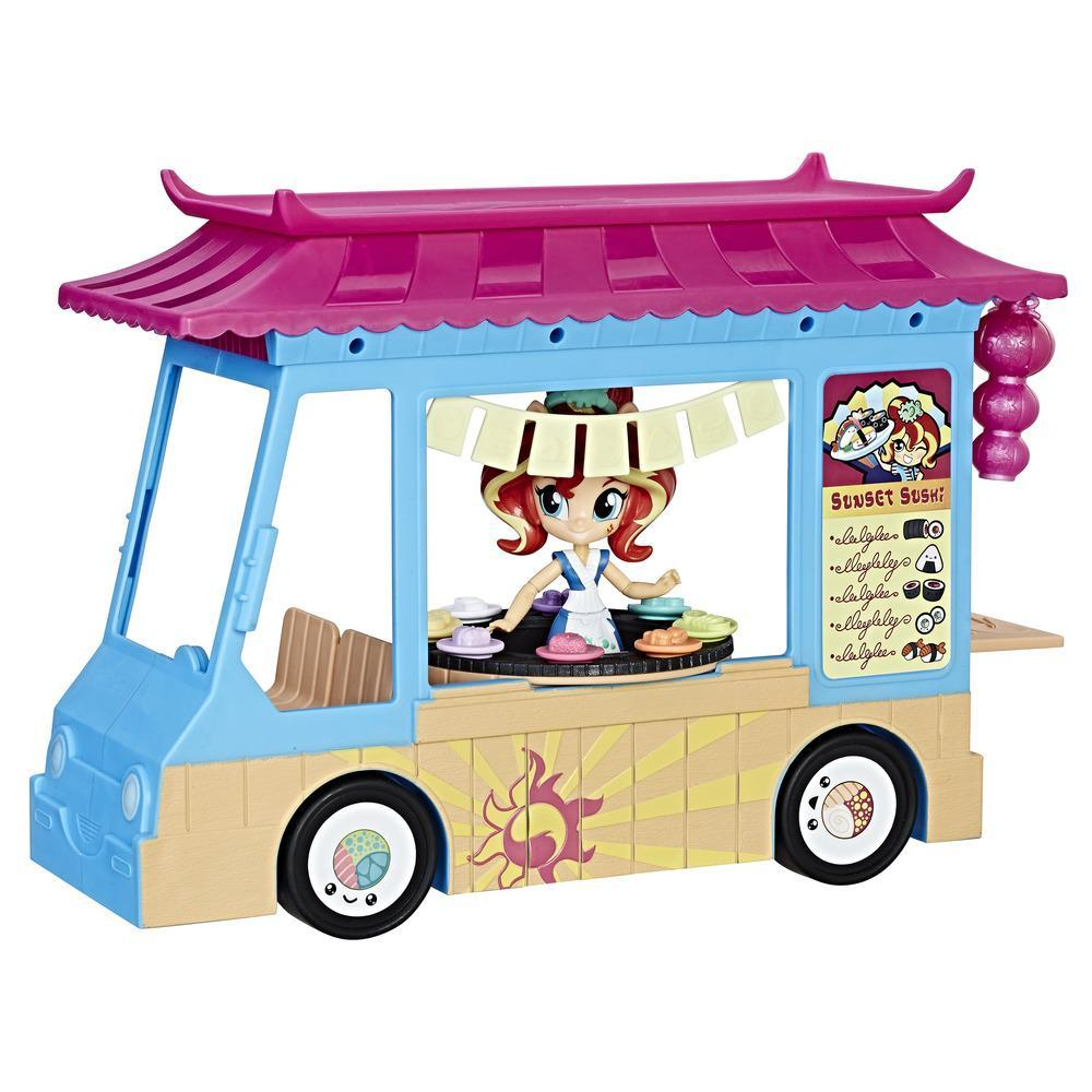 My Little Pony Equestria Girls Le Food Truck à Sushis