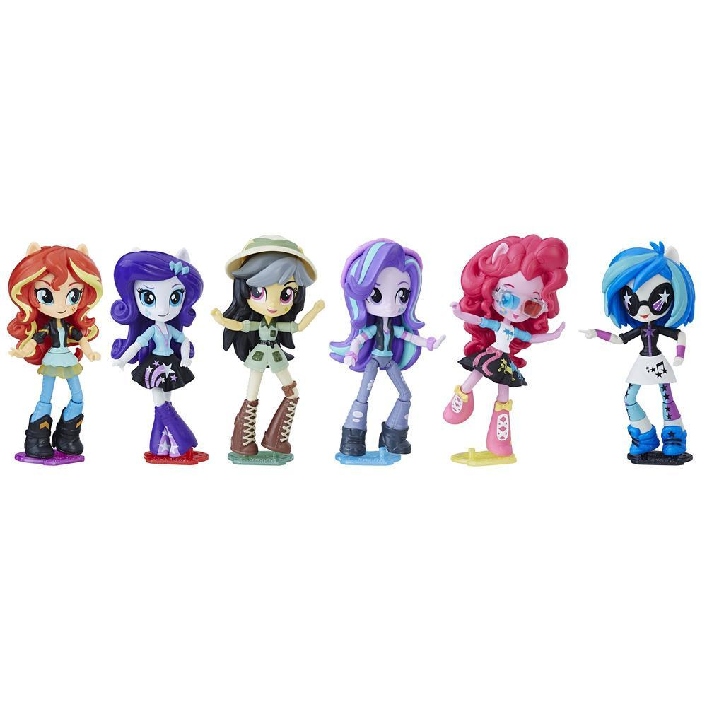 My Little Pony Equestria Girls  PACK COLLECTION 6 POUPEES