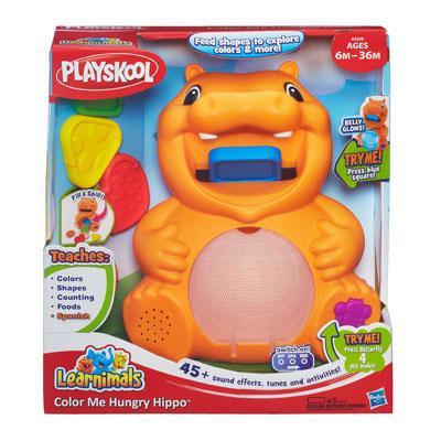 Hippo J'apprends les formes et les couleurs