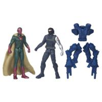 PACK DE 2 FIGURINES 7 CM CIVIL WAR : WINTER SOLDIER VS MARVEL VISION