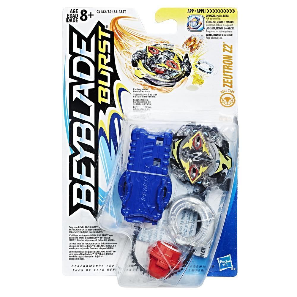 Pack Starter Beyblade Burst Zeutron Z2