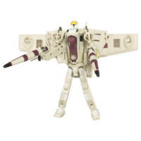 Star Wars TRANSFORMERS CROSSOVERS - Clone Pilot to Republic Gunship