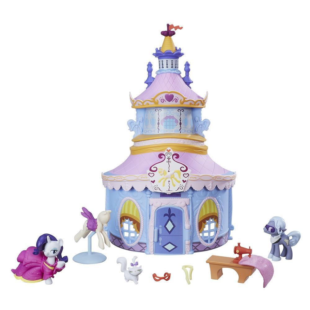 Coffret My Little Pony Friendship Is Magic Collection Rarity Carousel Boutique