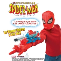 Spiderman Animated Kit Deluxe Masque et Lance Fléchettes