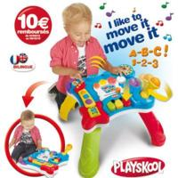 PLAYSKOOL TABLE MUSCIALE BILINGUE