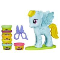 Play-Doh Rainbow Dash chevelure de rêve