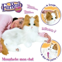 FURREAL FRIENDS MOUSTACHE MON CHAT