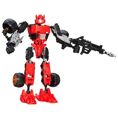 Transformers Construct-Bots Scout Class Cliffjumper Buildable Action Figure