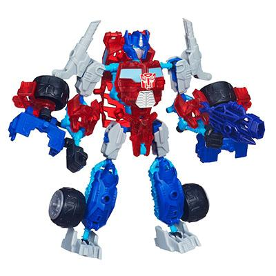 Transformers Construct-A-Bots Elite Class Optimus Prime Buildable Action Figure