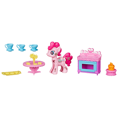 My Little Pony POP Déco Kit la pâtisserie de Pinkie Pie