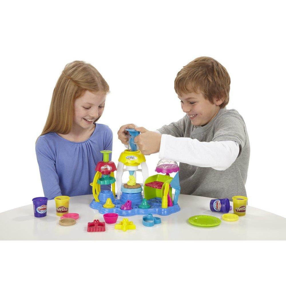 Play-Doh Cupcakes et glacages gourmands