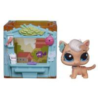 Littlest Pet Shop Mini Style Készlet Meow Meow Milkone Figurával