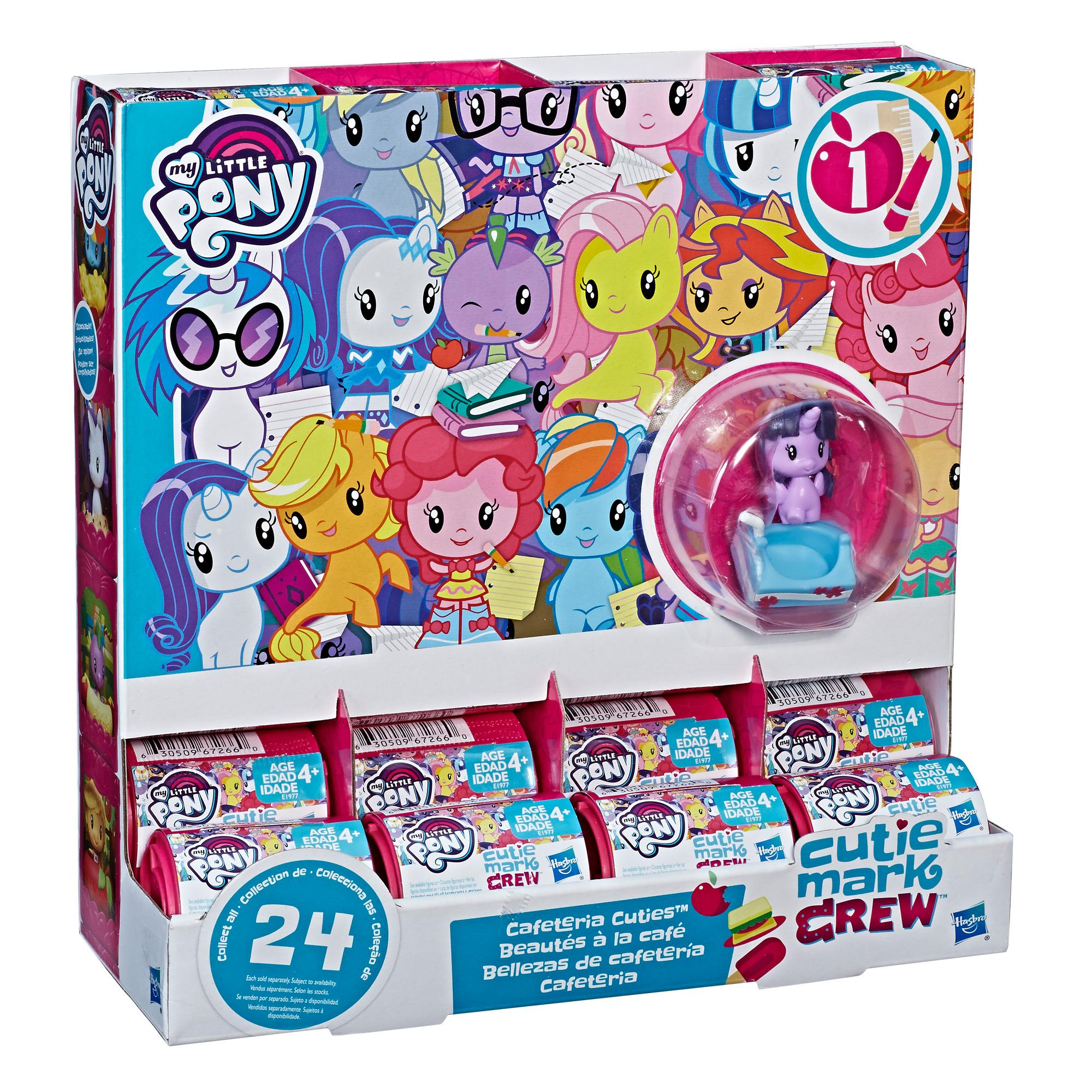 My Little Pony Cutie Mark Crew Series 1 Cafeteria Cuties Blind Packs