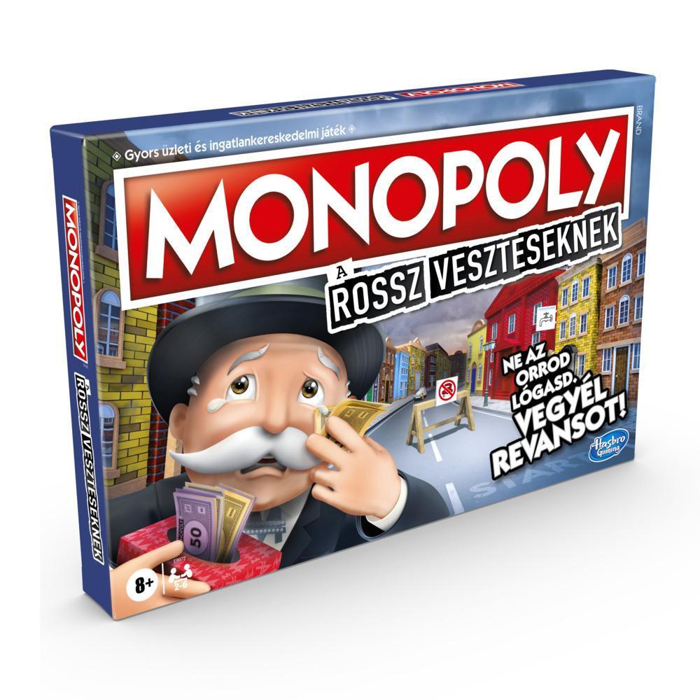 Monopoly a rossz veszteseknek társasjáték 8 éves kortól