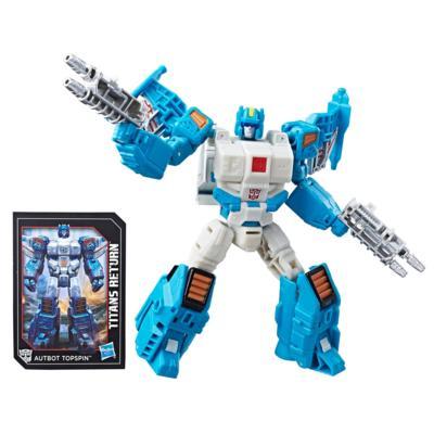 Transformers Generations Visszatérő Titánok Autobot Topspin & Freezeout