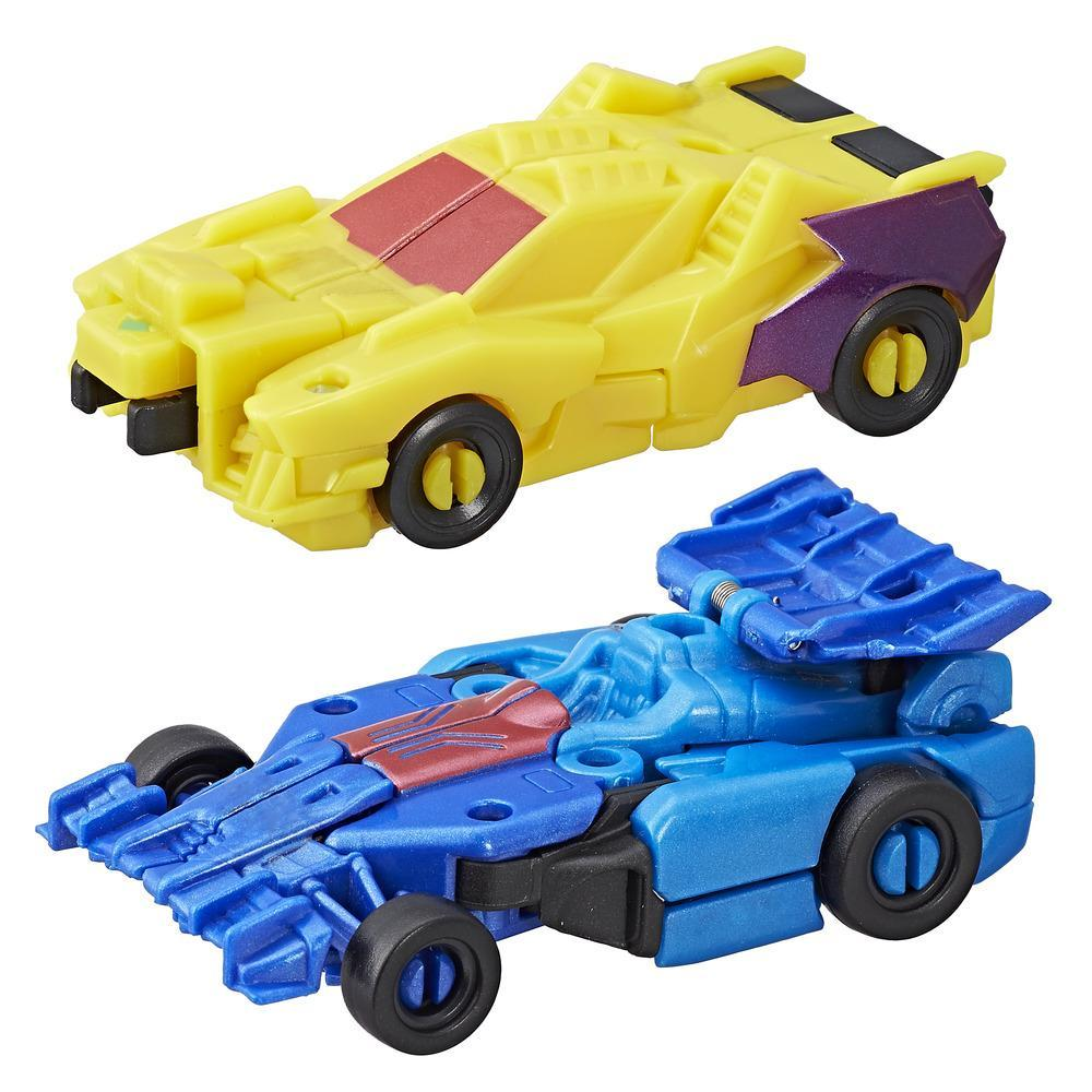 Transformers RID Combiner Force Crash Combiner Dragster & Wildbreak