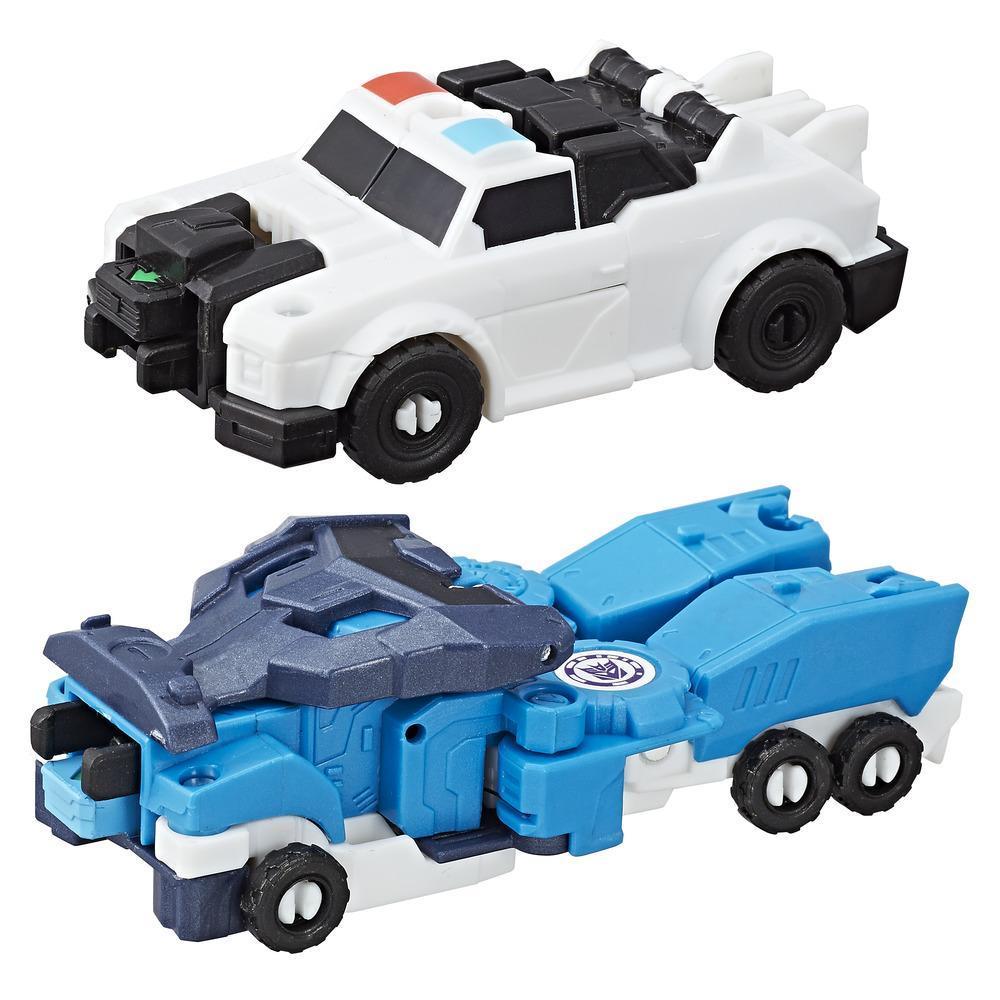 Transformers RID Combiner Force Crash Combiner Lunar Force Optimus Prime & Strongarm
