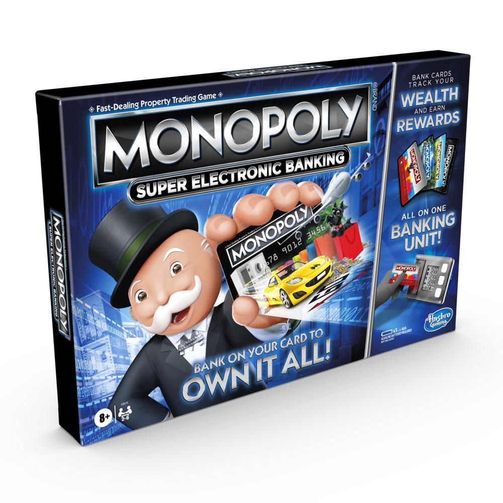 Monopoly Super Electronic Banking Board Game For Kids Ages 8 and Up