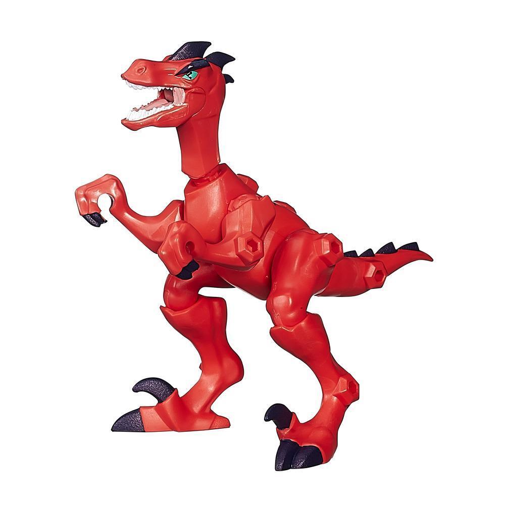 Jurassic World Hero Mashers Velociraptor Figure
