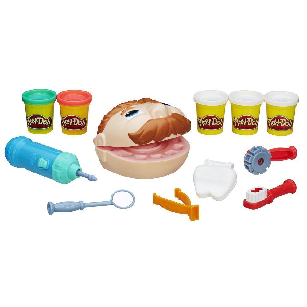 Play-Doh - Dottor Trapanino (playset con pasta da modellare)