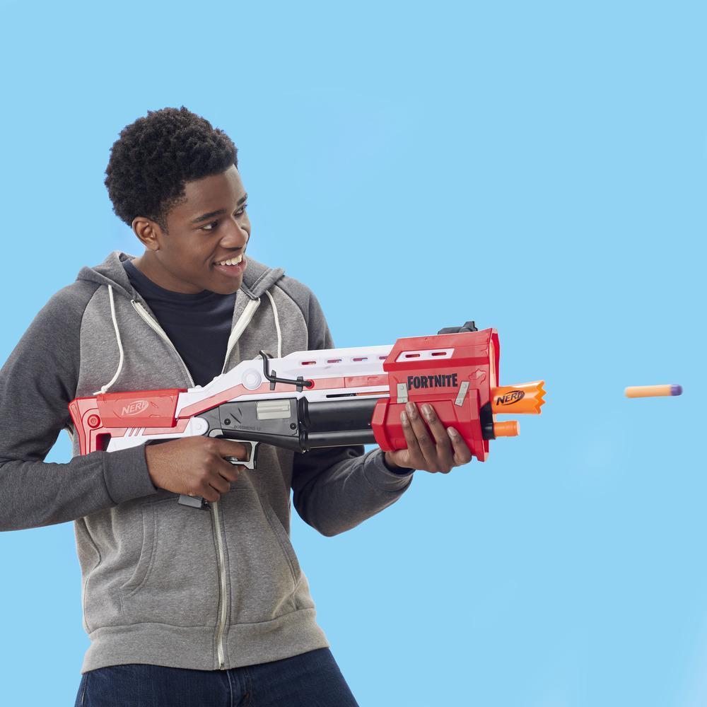 Nerf Fornite - TS (blaster Mega con dardi esclusivi Fornite)