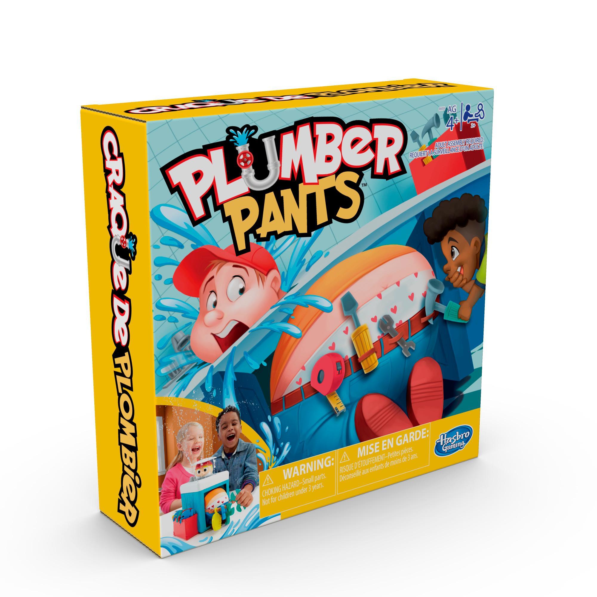 Hasbro Gaming - Pantalone, l'Idraulico Pasticcione (gioco in scatola)