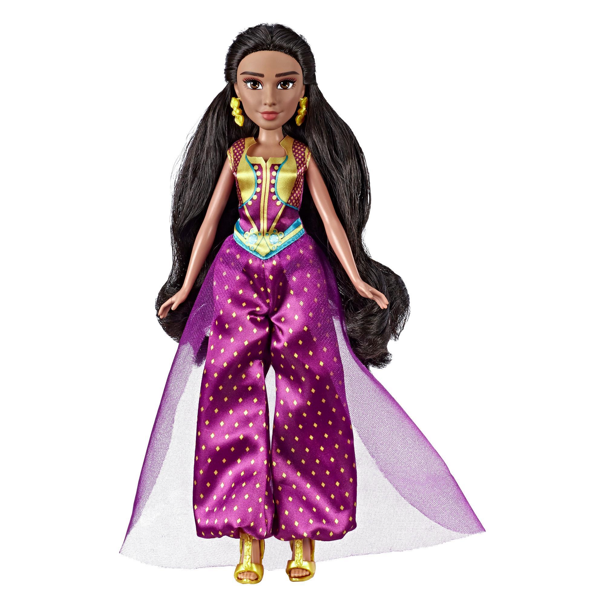 Disney Aladdin - Jasmine (Fashion Doll Deluxe con abito, scarpe ed accessori)