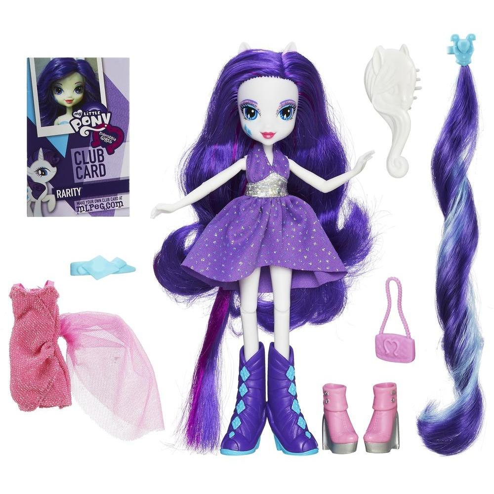 Equestria Girls Rarity Bambola con accessori